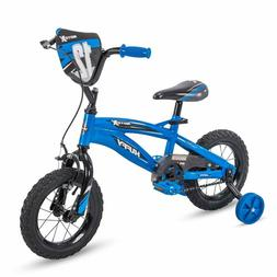 "Huffy 72028 12"" Motox Boys Bike, Gloss Blue, 12 Inch Wheel"