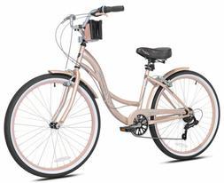 "🔥 Kent 26"" Bayside Women's Cruiser Bike - Rose Gold 🔥B"