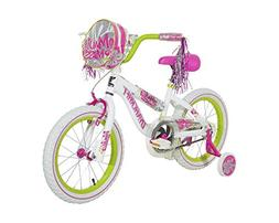 Dynacraft 8054-83ZTJ Girls Maui Miss Magna Bike, White/Pink/
