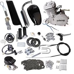 Iglobalbuy 80CC Petrol Gas Motor Bicycle Engine Complete Kit
