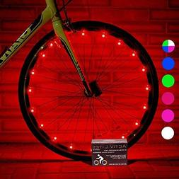 Activ Life Bicycle Tire Lights  Hot LED Bday Gift Ideas & Pr
