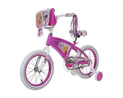 "Barbie Girls Bike with Light Up Frame, Pink/White, 16""/One S"