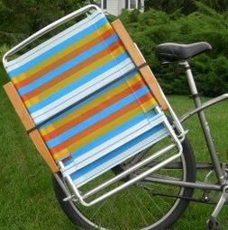 Beach Bum Beach Cruiser Bike Caddy Sports Equipment Chair Ho & Beach Cruiser Bike Bike