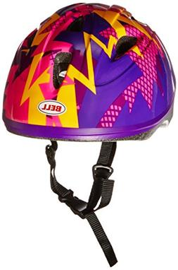 Bell Toddler Zoomer Bike Helmet, Purple Kink