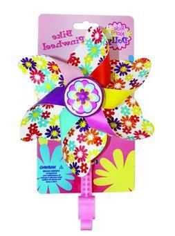 Ride Along Dolly Bike Handlebar Pinwheel - Spinning Flower P