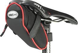 BikeHard Aero Road Seat Bag Black/Red