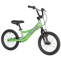 Boy's 16 Sport No-Pedal Balance Bike, Green