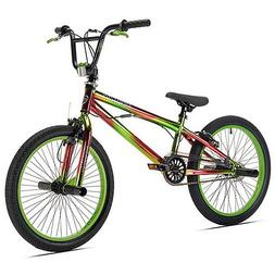 "Boys 20"" Bike Green Hand Brakes Freestyle Bicycle steel 100"
