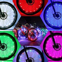 2FastMoto LED Bar Ends Boys Girls Bike Bicycle Flashing Handlebar Lights Kids