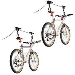 Discount Ramps 2-Bike Elevation Garage Bicycle Hoist Kit
