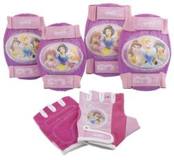 Disney Princess Pink Bike Bicycle Skating 6 piece Pad Set