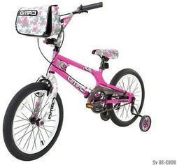 Dynacraft 8093-36TJ Decoy Girls Camo Bike, 18-Inch, Pink/Bla