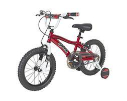 """Dynacraft Boys Bulldog Bike, Red/Black/White, 16"""""""