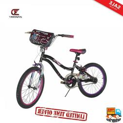 Dynacraft Girl's 20-Inch Monster High Bike, Black/Pink