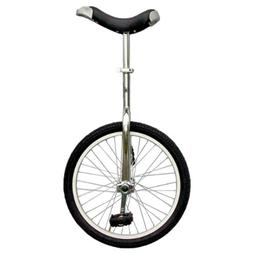 Fun 20 Inch Wheel Chrome Unicycle with Alloy Rim