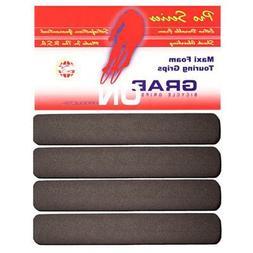 Grab On Maxi Drop Bar Foam Grips Black Set/4