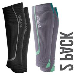 Graduated Calf Compression Sleeves for Men & Women by Thirty