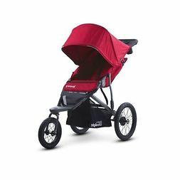 Joovy Zoom 360 Ultralight Jogging Stroller, Red