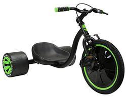 Madd Gear Mini Drift Trike, Black/Green