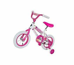 "Magna Girls 12"" Sweet Heart Bike, Small, White/Pink"