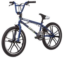 Mongoose 20-Inch Boy's Scan R30 Freestyle Bicycle, Blue
