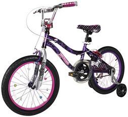 "Monster High Dynacraft Girls BMX Street/Dirt Bike 18"", Black"