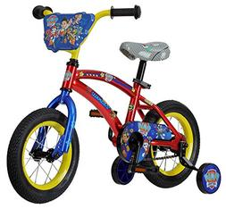 Nickelodeon Paw Patrol Bicycle With Training Wheels, 12-Inch