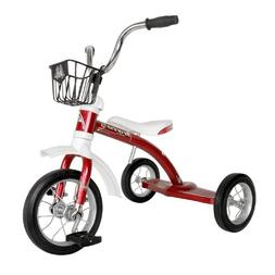 Piranha Firefly Classic Tricycle, for Boys and Girls, Red, 1