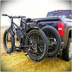 Pro-Series 63134 Q-Slot 2 Black 2-Bike Hitch Mounted Bike Ca
