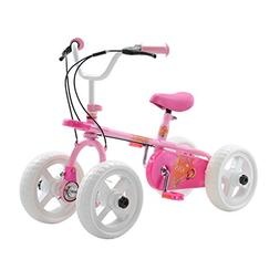 Quadrabyke Kiss Kid's Cycle, 10 inch Wheels, 2, 3 or 4-wheel