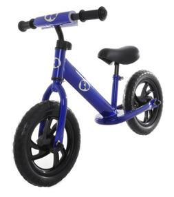 Rally Balance Bike Training No Pedal Push Bicycle Blue