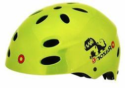 Razor V-17 Child Multi-Sport Helmet, Dino Gloss Green