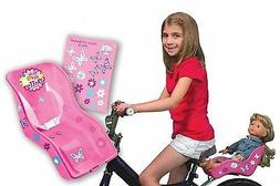 Ride Along Dolly Doll Bicycle Seat Bike Seat with Decorate Y
