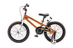 Royalbaby BMX Freestyle Kid's Bike, 18 inch wheels, Orange