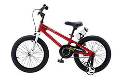 Royalbaby BMX Freestyle Kid's Bike, 18 inch wheels, Red