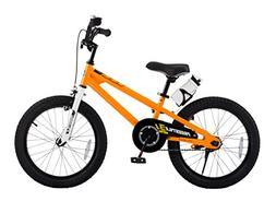 Royalbaby BMX Freestyle Kid's Bike, 18 inch wheels, Orange