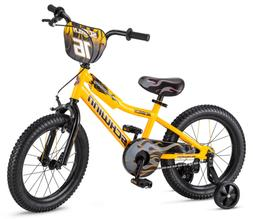 "Schwinn Scorch Boy's Bicycle, 16"" Wheels, with Training Whee"