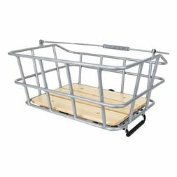 "Sunlite Woody QR Rack Top Basket, 11.8 x 15.7 x 7"", Silver"