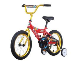Titan Boy's Champion BMX Bike, Red/Gold, 16-Inch
