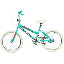 Titan Tomcat 20-Inch Wheel Girls BMX Bike with Pads, Teal Bl