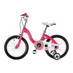 Usee Bubble Girls Bike with Training Wheels , Best Gifts for