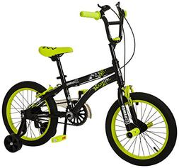 X Games FS-16 BMX/Freestyle Bicycle, 16-Inch, Black/Yellow