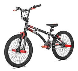 X-Games FS-20 BMX/Freestyle Bicycle, 20-Inch, Black Red