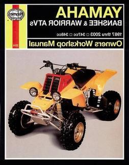 Yamaha ATVs Banshee, Warrior and Raptor 350 '87 to '10