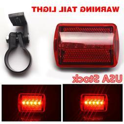 ABS Bicycle Rear Lamp Red Bike Tail Light 5LED Flash Warning