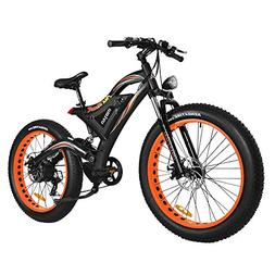 Addmotor Motan 750W Electric Bicycles 48V 11.6AH Battery 26'