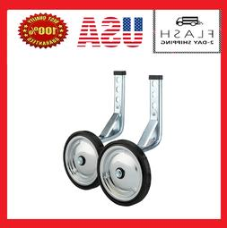 """Adjustable Adult Bicycle Bike Training Wheels Fits 16"""" to 20"""