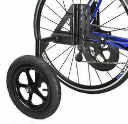 CyclingDeal Adjustable Adult Bicycle Bike Training Wheels Fi