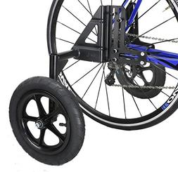 CyclingDeal Adjustable Adult Bicycle Bike Training Wheels Fi