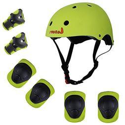 Lanova Kids Adjustable Sports Protective Gear Set Safety Pad